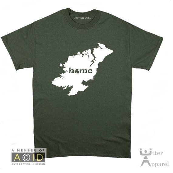 County Leitrim shirt, Ireland Counties, funny Irish t shirt Christmas birthday wedding gift  Ireland Sizes S-2XL More colors.