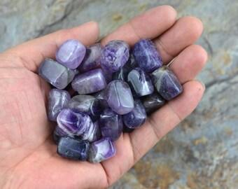 5 Piece natural amethyst loose stone energy crystal energy gemstone chakra healing crystal wholesale