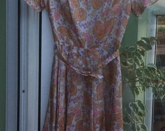 Amazing vintage original 1950's/60's Dicel dress