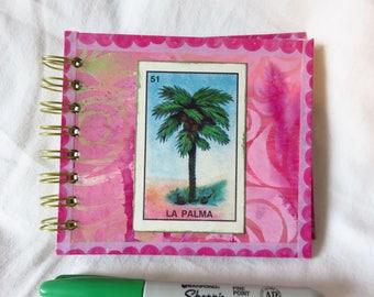 La Palma - Spiral bound art journal