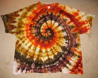 nature, art shirt, hippie, festival, tie dye, 3XL