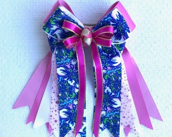 Horse Show Hair Bows/Sophisticated Lilly Inspired/Sparkle Glitter