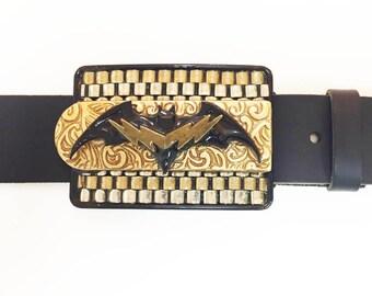 Batman Multi-Metal Buckle and Belt Strap
