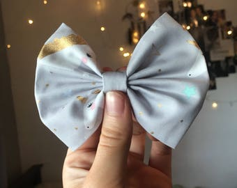 Golden Unicorn Bow