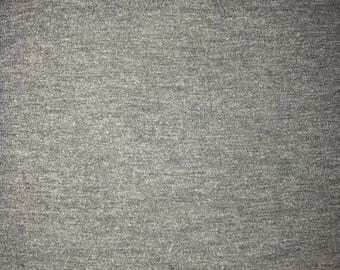 Medium to Charcoal gray knit fabric