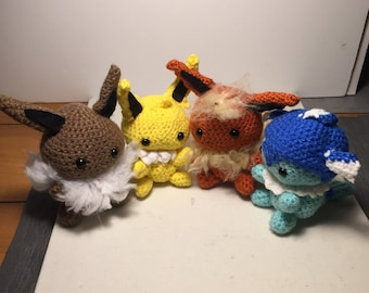Made to order whole eeveelution set