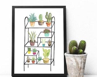 Plant Life A4 Print