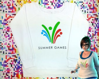 Mei Summer Games Sweater (Perfect for Halloween or Cosplay!)