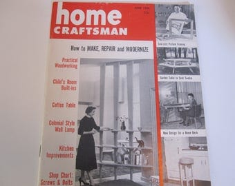 Reserved for MM***Home Craftsman June 1954 Issue
