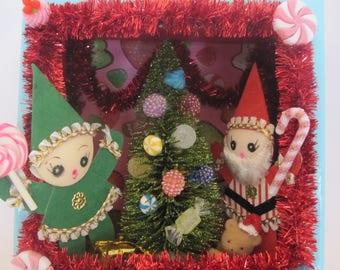 Kitschy Christmas Diorama