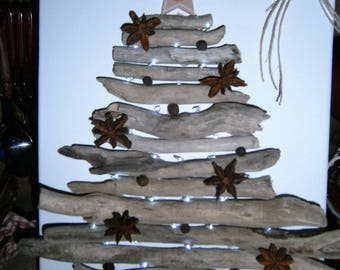 Driftwood tree table