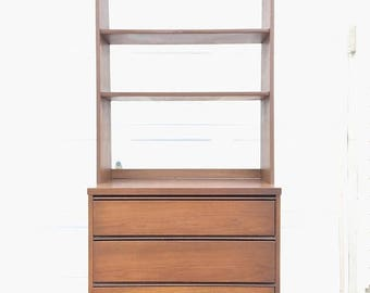 ON SALE chest of drawers with bookcase top  (2 available)