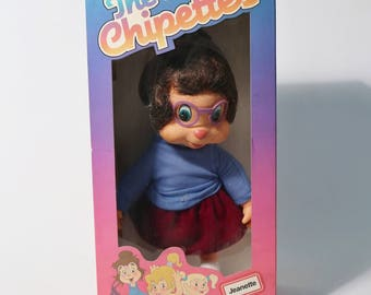 1985 Ideal Alvin & The Chipmunks Chipettes Jeanette Doll - NOS