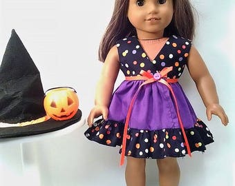 Halloween Dress that will fit a 18 inch doll like the American Girl