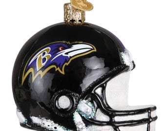 Baltimore Ravens Helmet Ornament - Christmas Ornament - Personalized Holiday Decoration - NFL Licensed