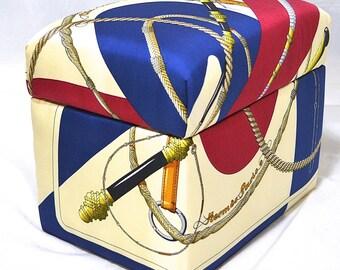 Hermes Custom ClicClac Scarf Kiri Box iwj4377-1