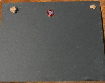 Airbourne Shield Slate Chalk Board Messages, Lists , Tally Chart, Reminders Military Gift ME08