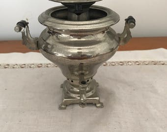 tiny, vintage samovar