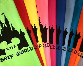 2018 - Disney Family Shirts - Disney Home Shirts - Disney Vacation Shirt - Matching Personalized Shirts