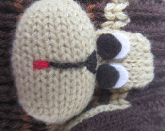 Wool Socks - Woman Warm Knitted  Socks - 7 - 8