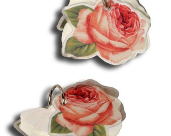 """Notebook with """"Rose"""" design ring"""