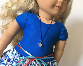 "18"" Doll Dress , Ag Doll Dress   American Girl Doll Clothes"