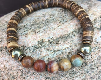 Bracelet gemstone yoga bracelet, meditation bracelet, Bracelet, Buddha, gift