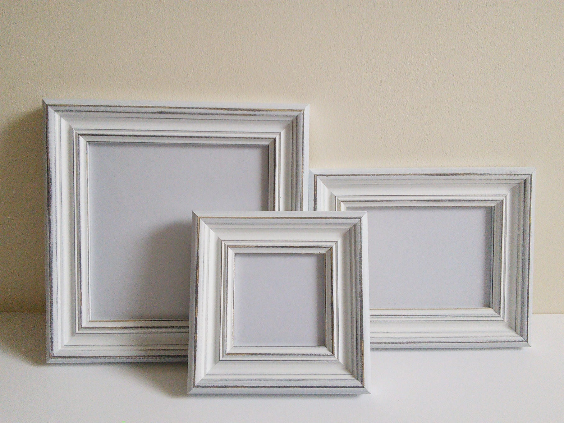 Poster frame photo frame picture frame a4 wash white distressed frame living home decor framing - Nanu nana poster ...