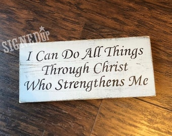 I can do all thrings through Christ