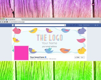 Pretty Bird Lula Facebook Cover Graphic