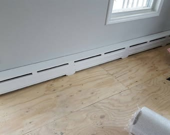 baseboard heat element covers radiator cover