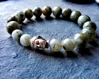 Labradorite bracelet, healing bracelet, chakra bracelet