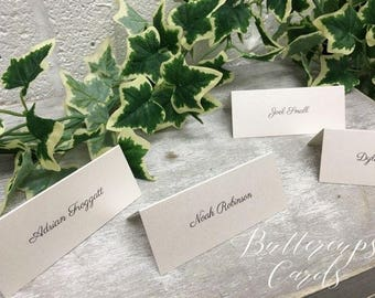 simply pretty place cards ivory place cards name cards printed place settings ivory name place vintage name place cards printed name cards