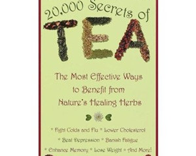 20,000 Secrets of Tea Book by Victoria Zak