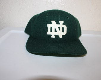 Vintage 90's University of Notre Dame Fighting Irish Snapback by Legacy