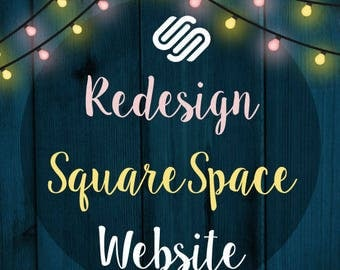 Redeign SQUARESPACE Website – E-commerce – Website Redesign – Boutique Website – Custom Blog