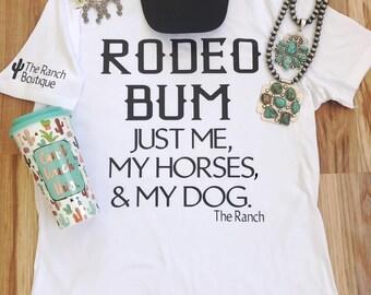 Rodeo Bum tee