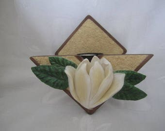 Magnolia Candle Sconce