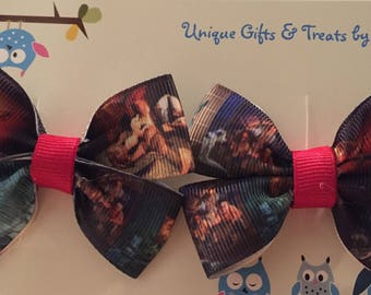 Disney Pirates of the Caribbean Hair Bow; Pirate Hair Bow