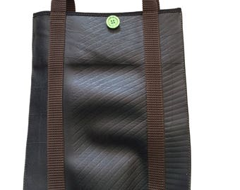 Recycled rubber Tote handbag Bagy