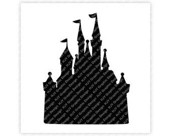 Disney, Castle, Icon Mickey Mouse, Icon Minnie Minnie, Logo, Head, Digital, Download, TShirt, Cut File, SVG, Iron on, Transfer