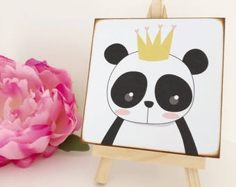 Panda with Crown...