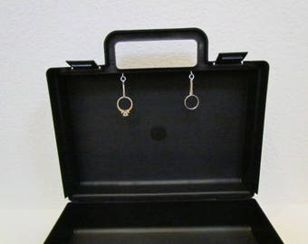 alternative wedding ring box briefcase for ring bearer box ring security briefcase wedding box clasps to secure the rings inside the box