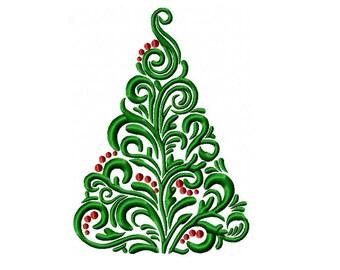Swirl christmas tree   Etsy