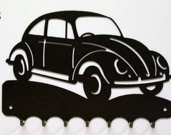 Hangs 26 cm pattern metal keys: VW Beetle