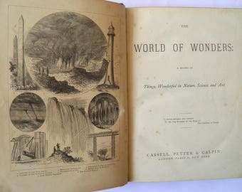 World of Wonders A Record of Things Wonderful in Nature Science and Art c.1870