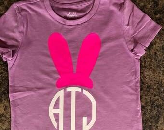 Easter momogrammed shirt