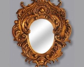 Baroque mirror wall mirror antique style AfPu052