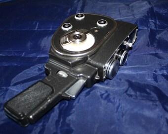 Vintage 1960s Quartz M 8mm Retro Cine Camera Film Movie