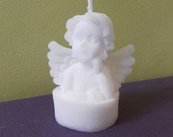 RSPO Palm wax candle Angel